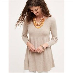 Knitted & Knotted Babydoll Sweater